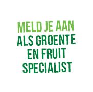 Meld je aan als grotente en fruit specialist