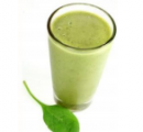 Groene spinazie smoothi