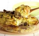 zuurkoolschotel met gehakt, banaan en kerrie